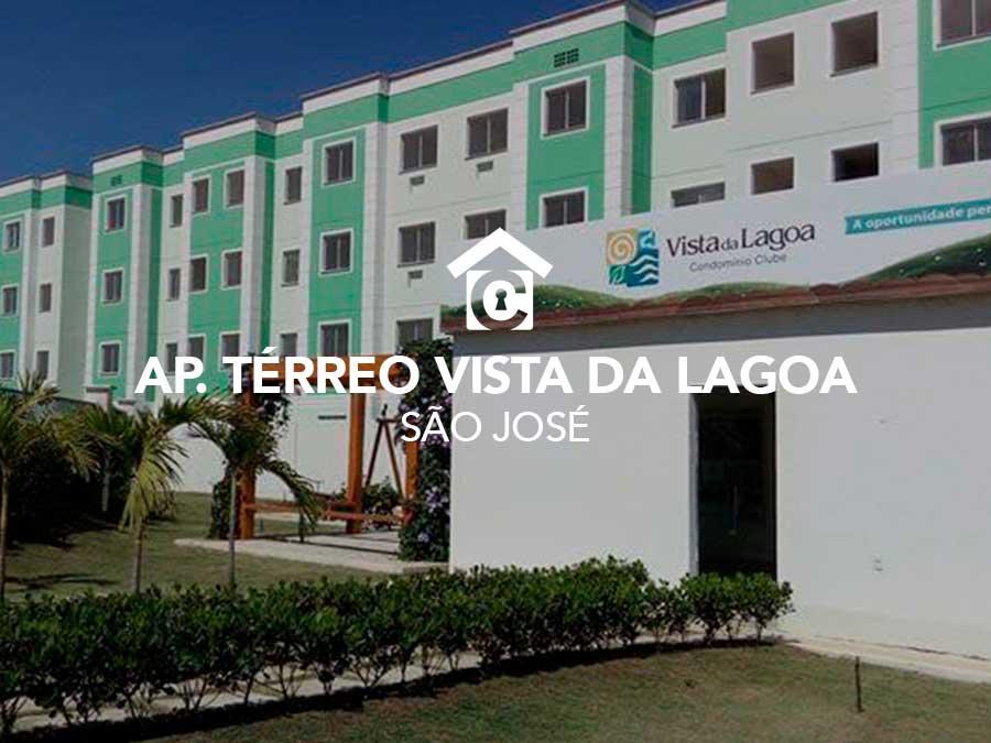 Apartamento térreo Vista da Lagoa – São José