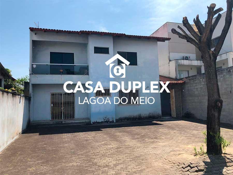 Casa duplex – Lagoa do meio
