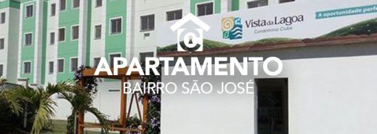 Apartamento – São José – Vista da lagoa