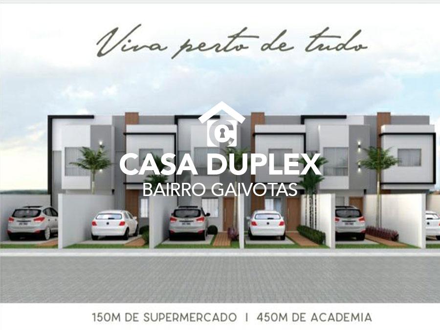 Casa duplex – Bairro Gaivotas